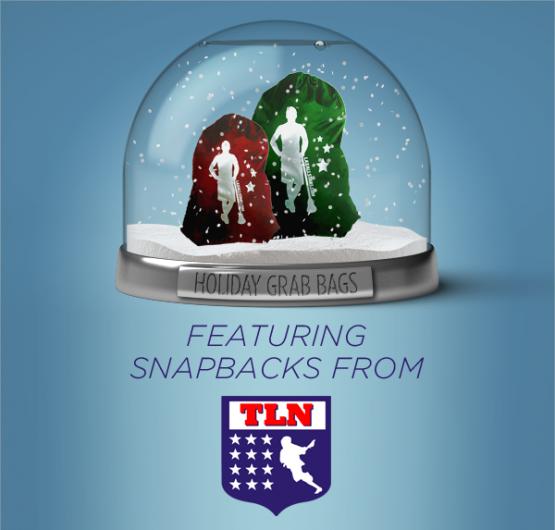 TLN Snapbacks in Holiday Grab Bags