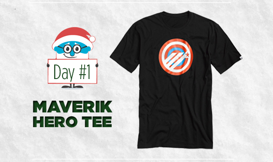12 Days of Laxmas: Day 1, Maverik Hero Tee