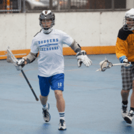 NYC Box Lacrosse - Drew Wichmann and James Synowiez