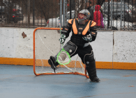 NYC Box Lacrosse - goal!