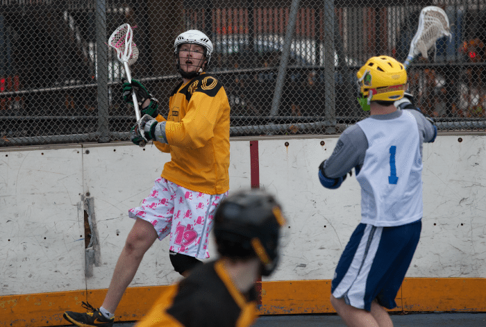NYC Box Lacrosse - George Rohonczy