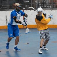 NYC Box Lacrosse - Drew Geiger and James Synowiez