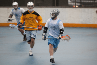NYC Box Lacrosse - Cam Kerst and Chris Moser