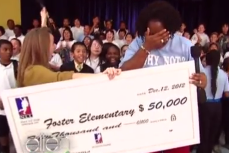 nll donates $50000