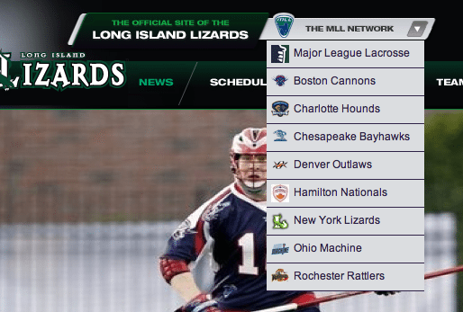 new york lizards mll lacrosse