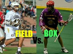 THE BIG LACROSSE DEBATE: BOX VS. FIELD