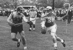 Joe Cowan for Hop, against Navy, in 1967 Photo courtesy: Johns Hopkins