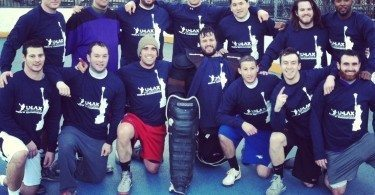 NYC Box Lacrosse - Gotham GOATS - Photo Credit: Bill Schick