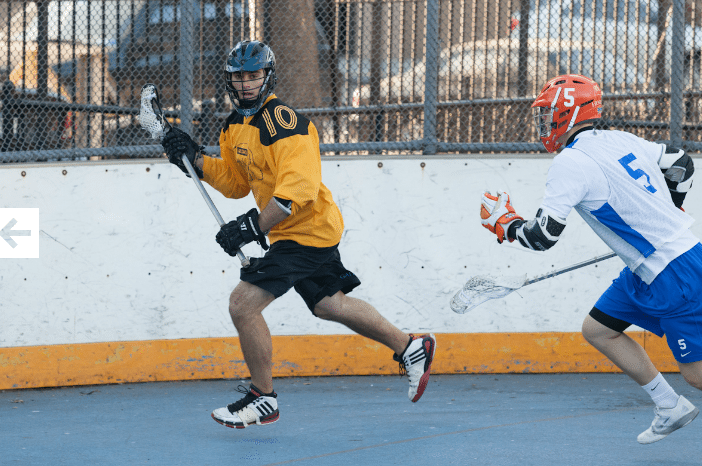 NYC Box Lacrosse - Joe Barile - Photo Credit: Bill Schick