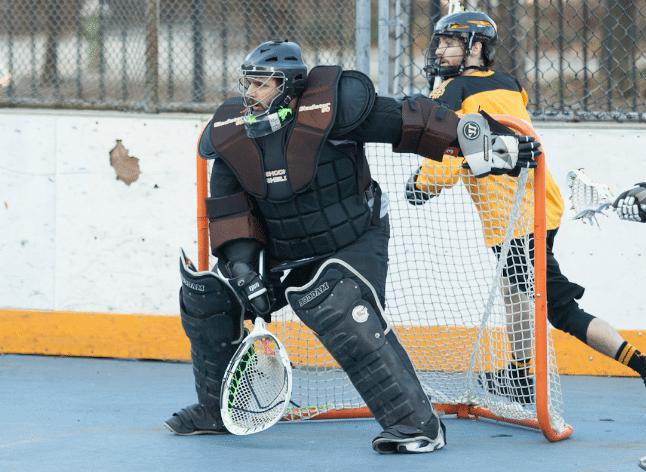 NYC Box Lacrosse - Jeff Melnik - Photo Credit: Bill Schick