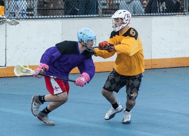 NYC Box Lacrosse - Pete Sayia - Photo Credit: Bill Schick
