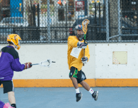 NYC Box Lacrosse - Joel Taliento - Photo Credit: Bill Schick