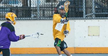 NYC Box Lacrosse - Joel Taliento - Photo Credit: Bill Schick
