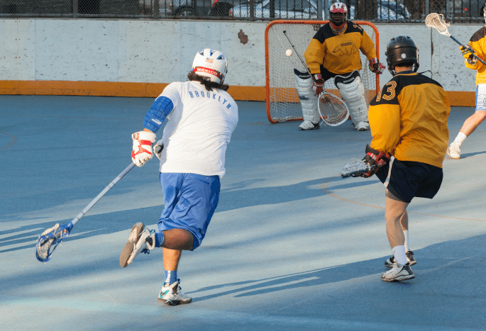 NYC Box Lacrosse - Rudy Martinez - Photo Credit: Bill Schick