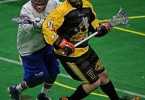 Syracuse Stingers vs NYC Lax All Stars Box Photo credit: Larry Palumbo
