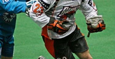 Rochester Knighthawks Buffalo Bandits NLL Matt Vinc Photo:Larry Palumbo