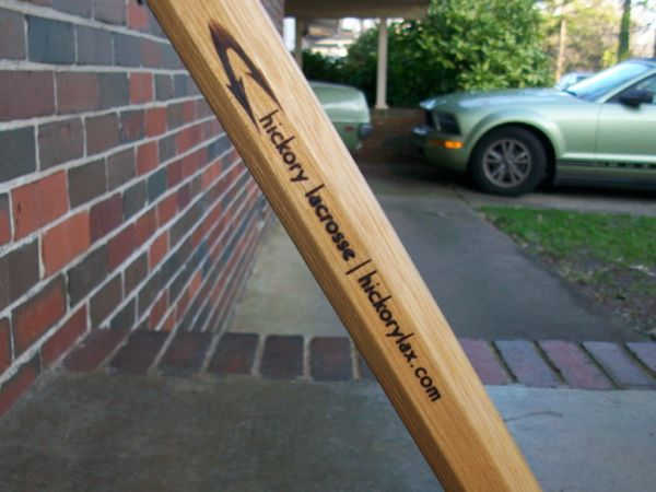 Hickory lacrosse shaft by HickoryLax.com