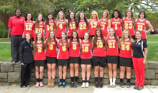 The Seton Hill Women's Lacrosse Team