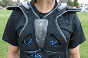 Reebok Black Shoulder Pads