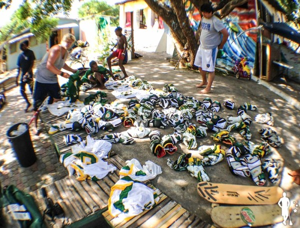 Jamaica Lacrosse CW Post Gear Drop