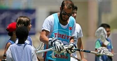 Lacrosse Clinic in Ashkelon