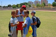 Lacrosse Clinic in Ashkelon