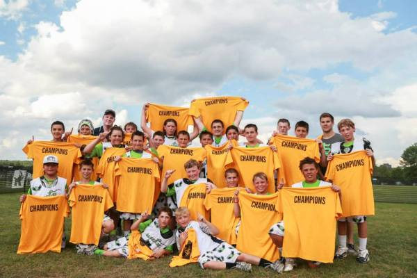 Sweetlax, the Boys 5-6 Division Champion