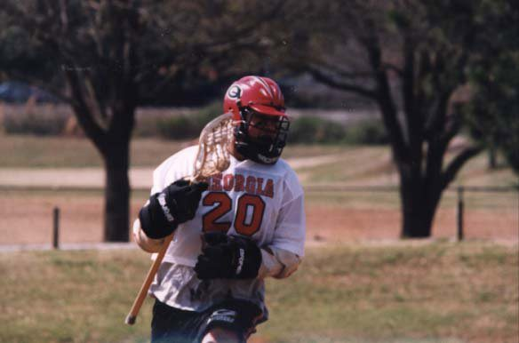 Chuck Richardson playing for Georgia back in the day.