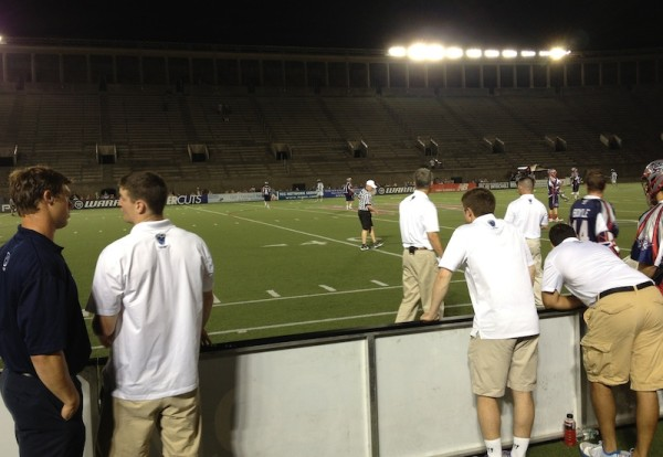 Cannons_sideline