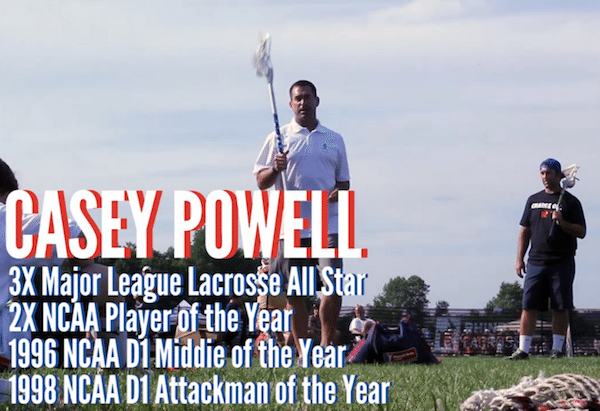 Lacrosse Leged Casey Powell