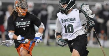 Loyola Lacrosse Vs Alumni