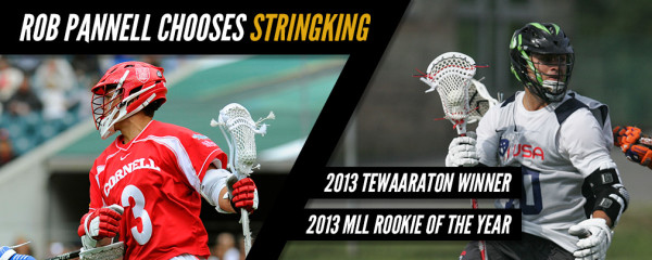 Rob Pannell Signs with StringKing Lacrosse