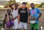 Chuck Richardson visits Jamaica