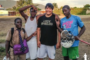 Chuck Richardson visits Jamaica