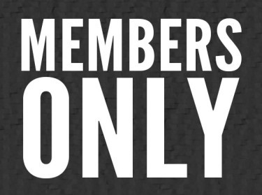 Members Only Update