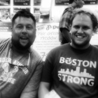 Myself and Sean Kirwan of Tufts aka the Farewell tour director.