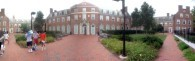 Panoramic view of the AMR dorms.
