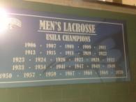 Hopkins USILA Championships.