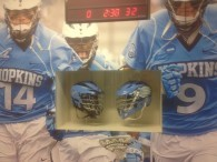 Clock countdown to the next game.