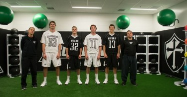 A new training room for the Friars.