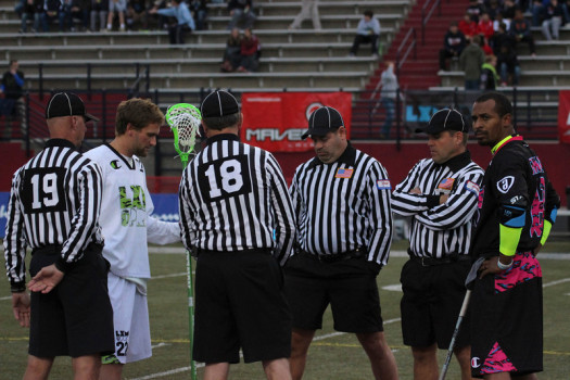Referee coin toss LXM Pro 404 Atlanta