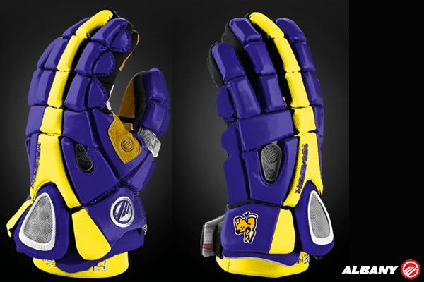Albany Lacrosse Glove Mockup