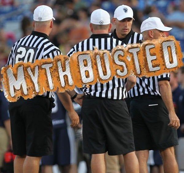 Myth Busted Refs Gordon Corsetti