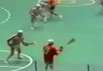 1974 box lacrosse nil wings griffins