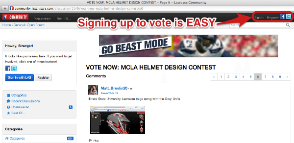 MCLA Contest How To