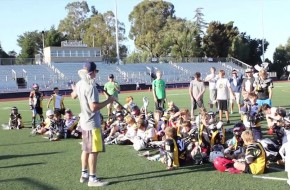Grow The Game Tour Meets Firehawks Lacrosse