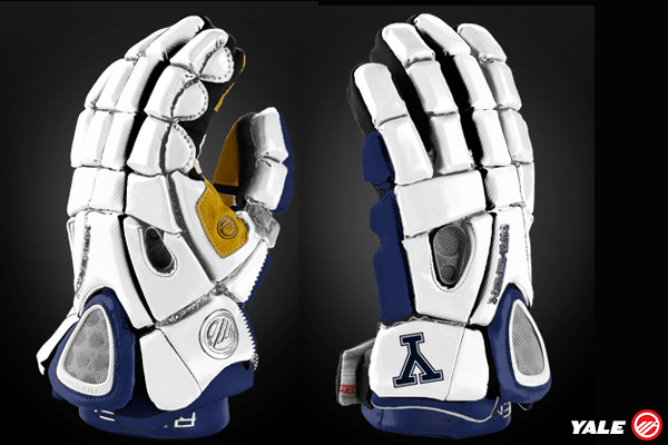 Yale Lacrosse Glove Mockup