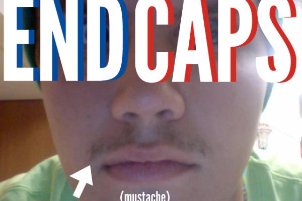 Mark Donahue End Caps Mustache November 9