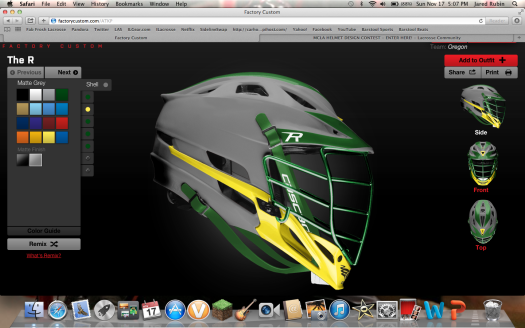 MCLA helmet design contest entry jrubin