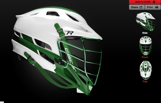 MCLA helmet design contest entry msuspartanslax24